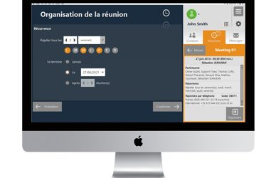 New Tixeo features : recurrence of meetings and interface customization