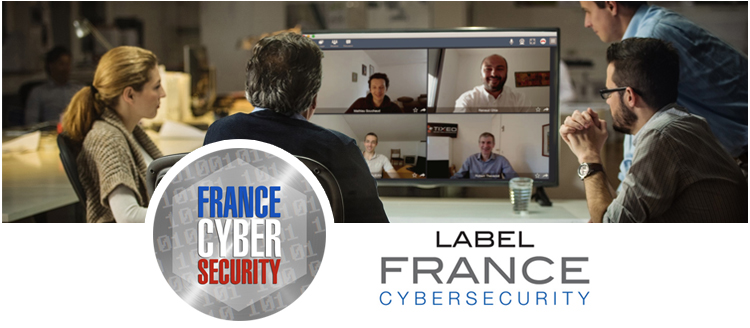 Label France Cybersecurity - Tixeo