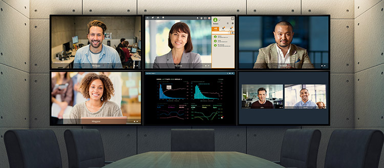 Tixeo multiscreen videoconferencing
