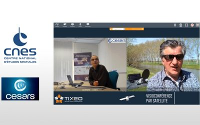 Tixeo video conferencing by satellite, it works!
