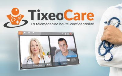 TixeoCare, the new telemedicine solution that respects medical confidentiality