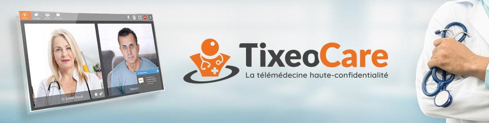 TixeoCare téléconsultation
