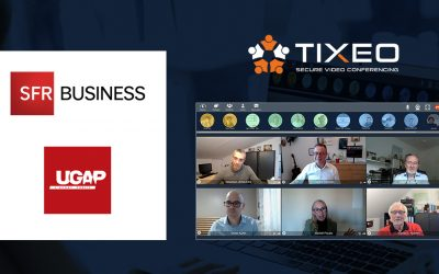Tixeo integrates SFR Business videoconferencing offer selected by the UGAP