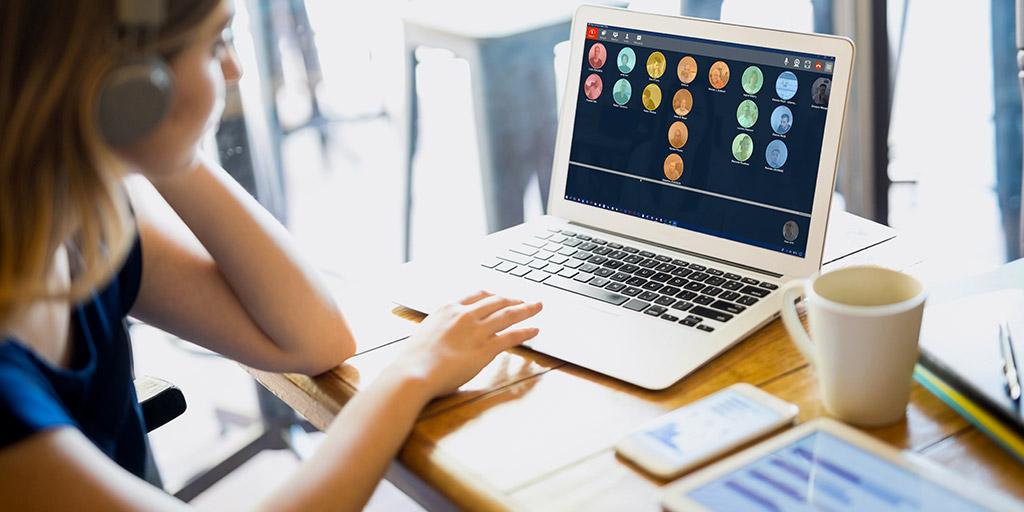 Partage d'écran et vidéo-collaboration avancée en ligne