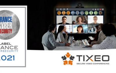 Tixeo is once again awarded the France Cybersecurity 2021 label for its secure video conferencing solution