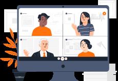 Screensharing und NextGen online Zusammenarbeit