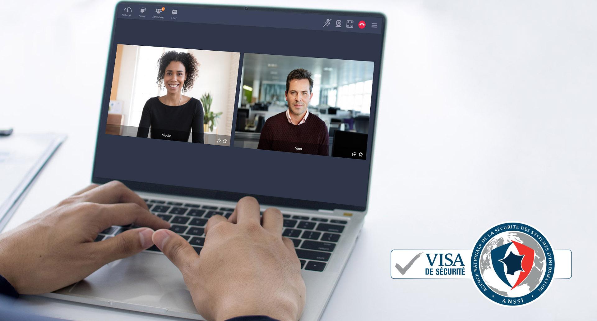 Tixeo reçoit à nouveau le visa de sécurité de l'ANSSI pour sa solution de visioconférence sécurisée