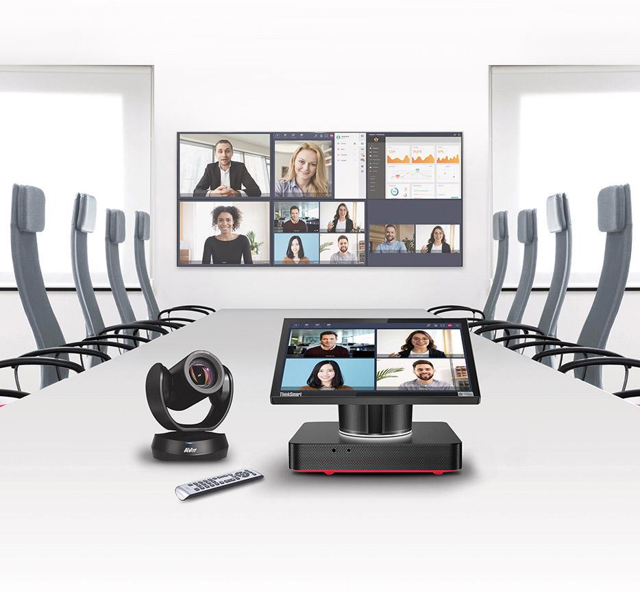 Mit dem Videokonferenzanlage VideoTouch Compact können Sie Ihre Videokonferenzen nahtlos verwalten.