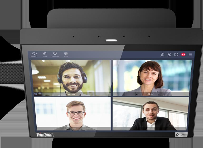 VideoTouch Kompakt-Videokonferenzanlage