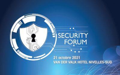 Tixeo auf dem Security Forum 2021 in Nivelles (Belgien)