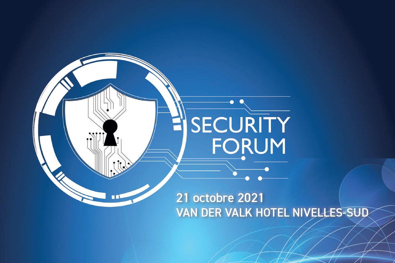 Tixeo au Security Forum 2021 de Nivelles (Belgique)